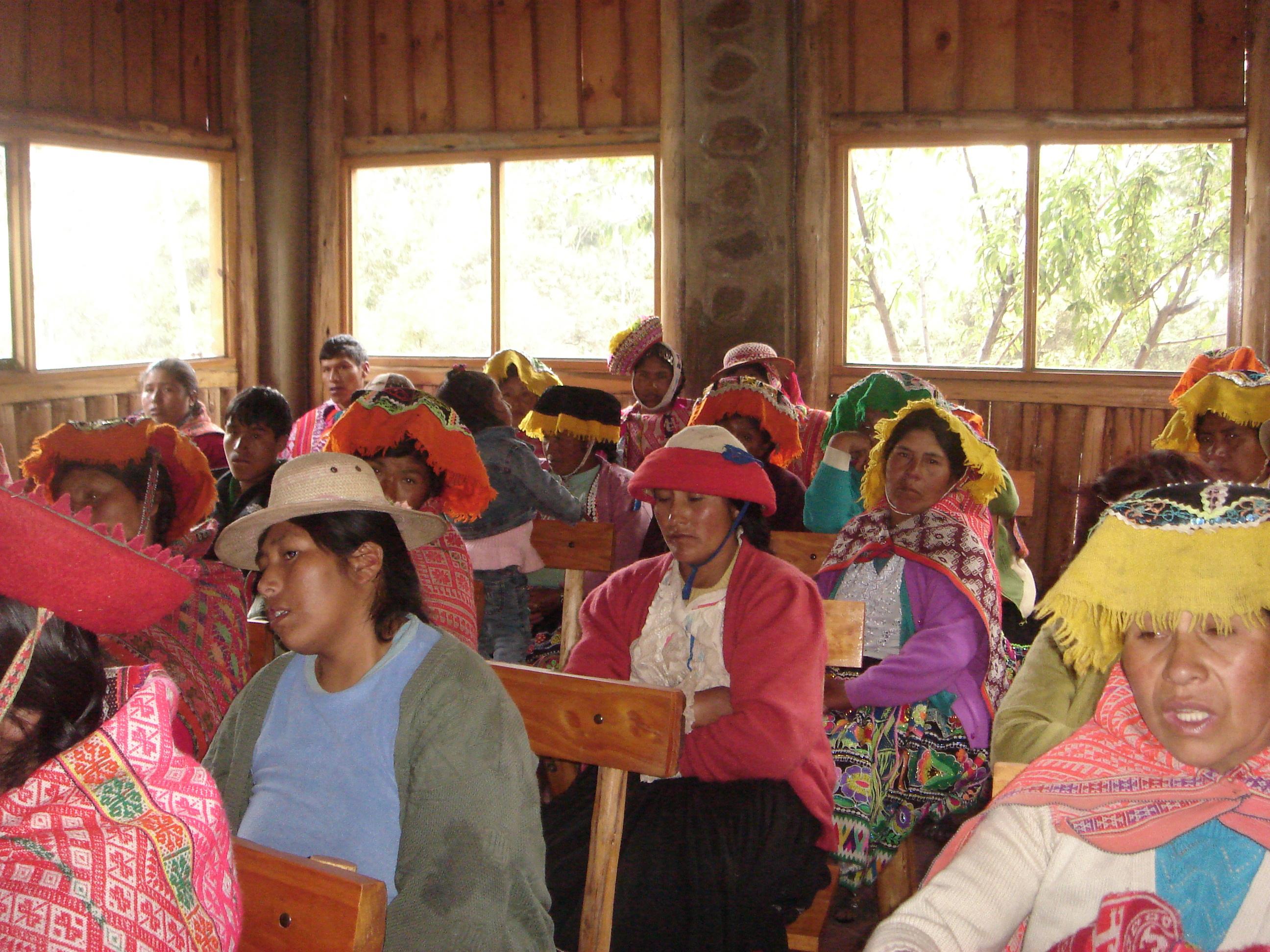 Meeting of weavers