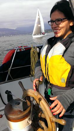 Lisbeth sailing