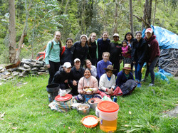 Group photo of Field School group