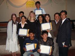 T'ikary Youth Program graduates