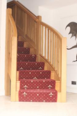 Bespoke Oak Staircase, Aberydfi