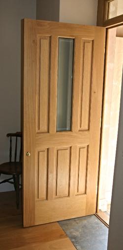Bespoke Oak Front Door