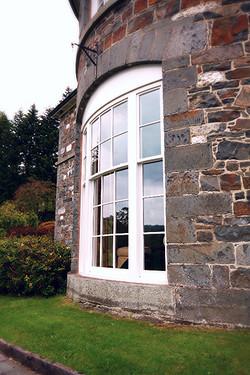 Bespoke Curved Sash Window