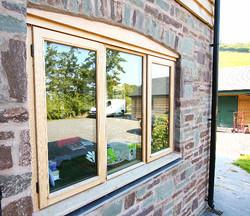 Bespoke Oak Window, Llandinam