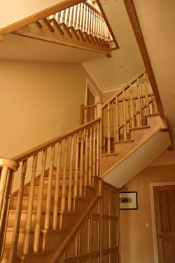 Bespoke Oak Staircase Devil's Bridge