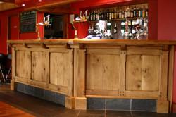 Bespoke Oak Bar, Llanidloes