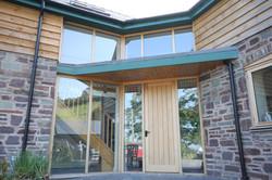 Bespoke Glazed Entrance