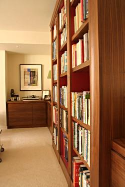 Bespoke Walnut Bookcase