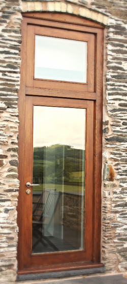 Bespoke Fully Glazed Entrance Door