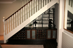Bespoke Staircase & Drinks Cabinet