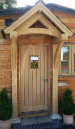 Bespoke Oak Entrance Door