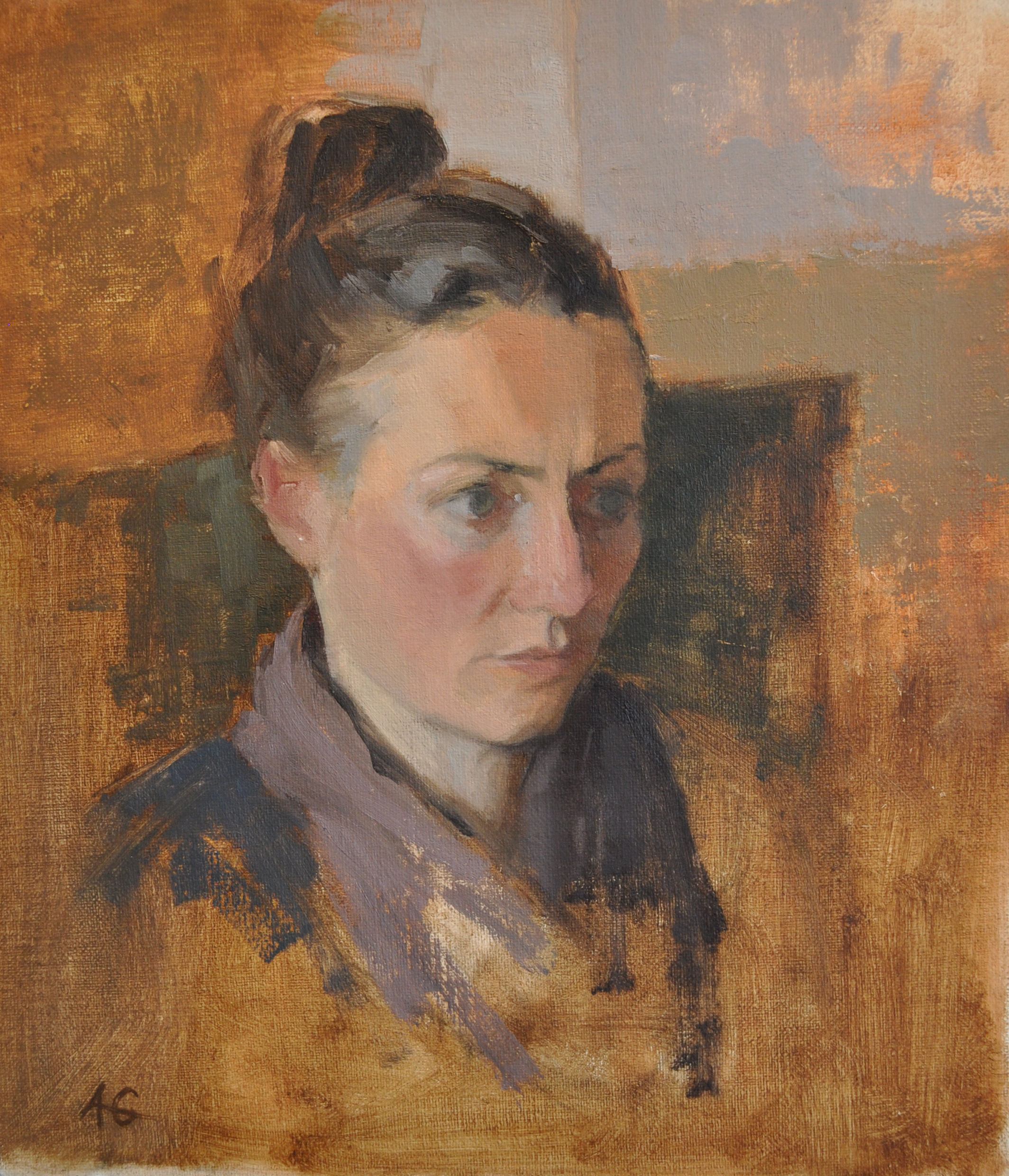 Portrait of Clare