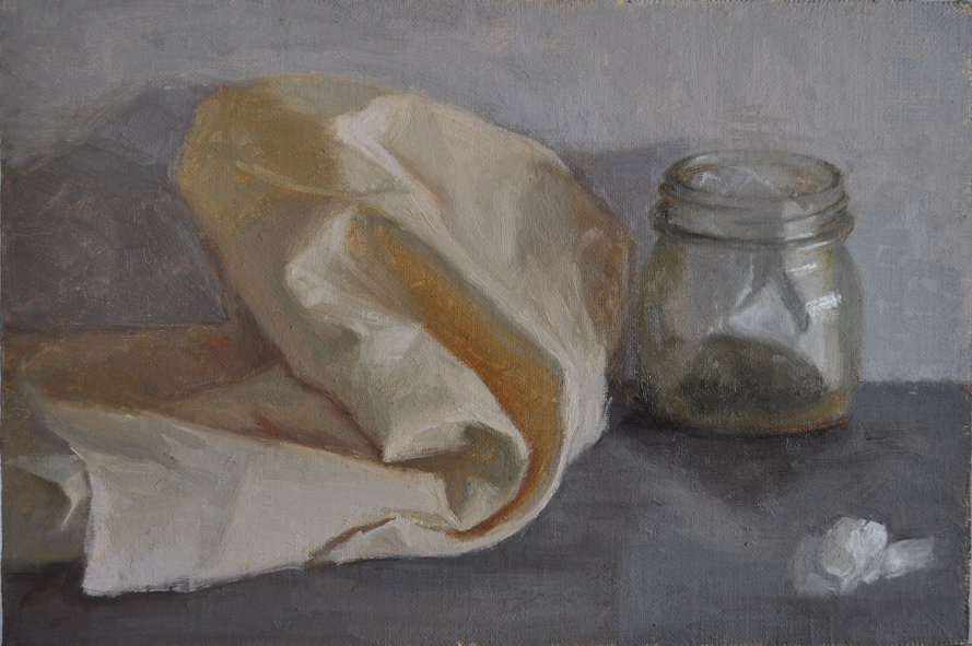 Jar and linen