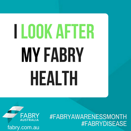 I Look After My Fabry Health