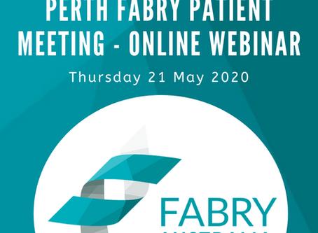 WA Fabry Patient Zoom Meeting