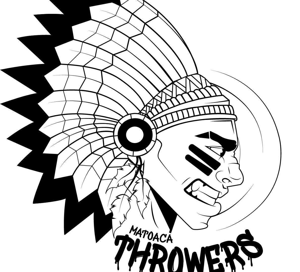 T-shirt design for my high school throwing team