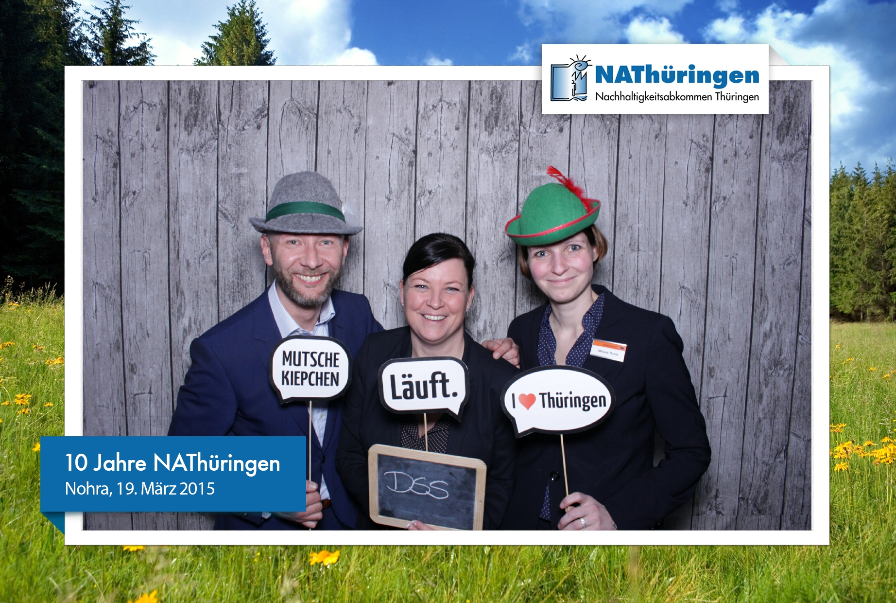 Fotobox Thüringen Firmenevent