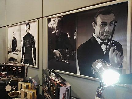 Fotobox, klassisch, vintage, James Bond