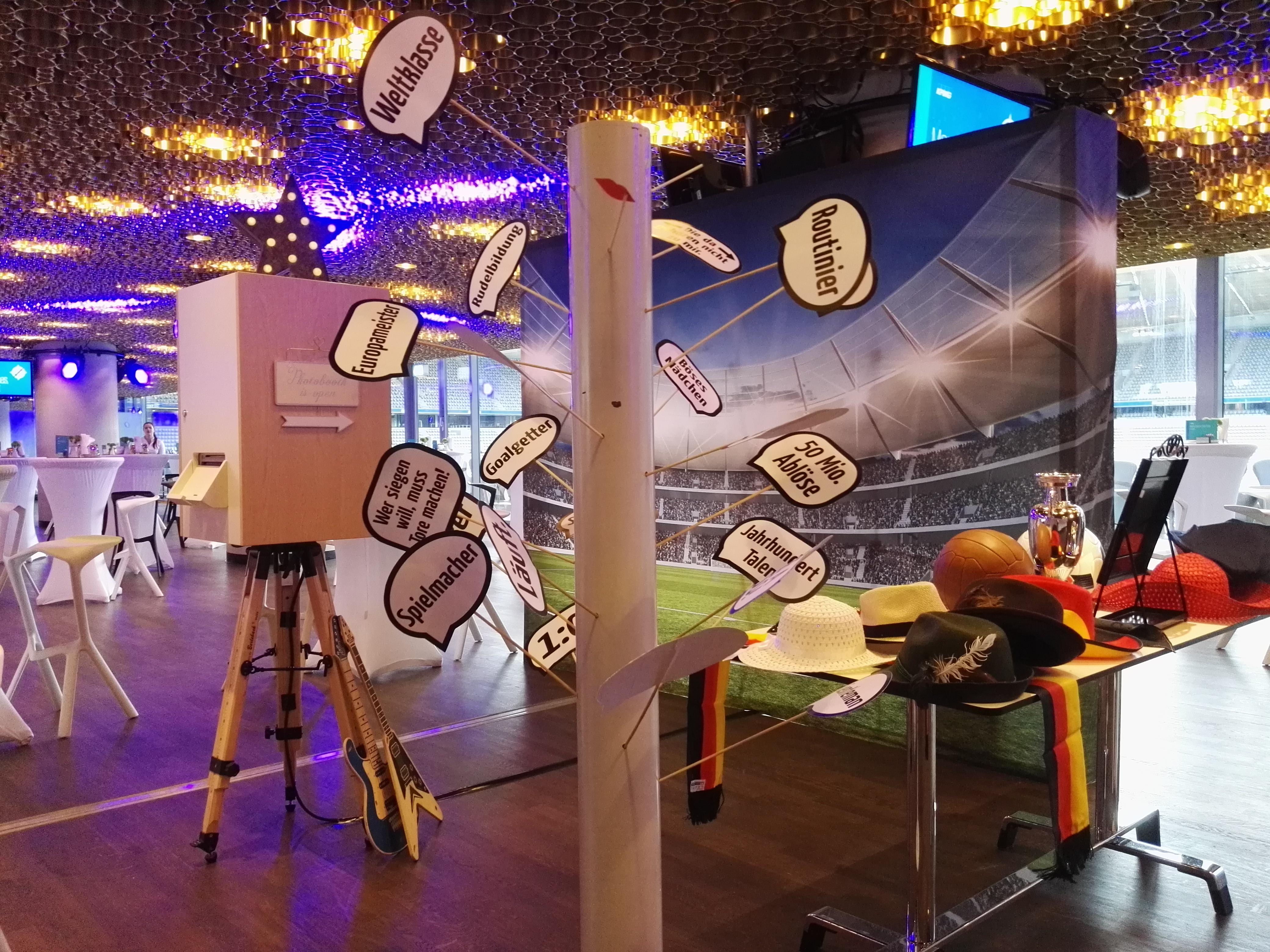 Fotobox Firmenfeier Berlin Sport