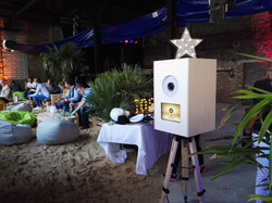 Photo booth Beachparty Teambuilding