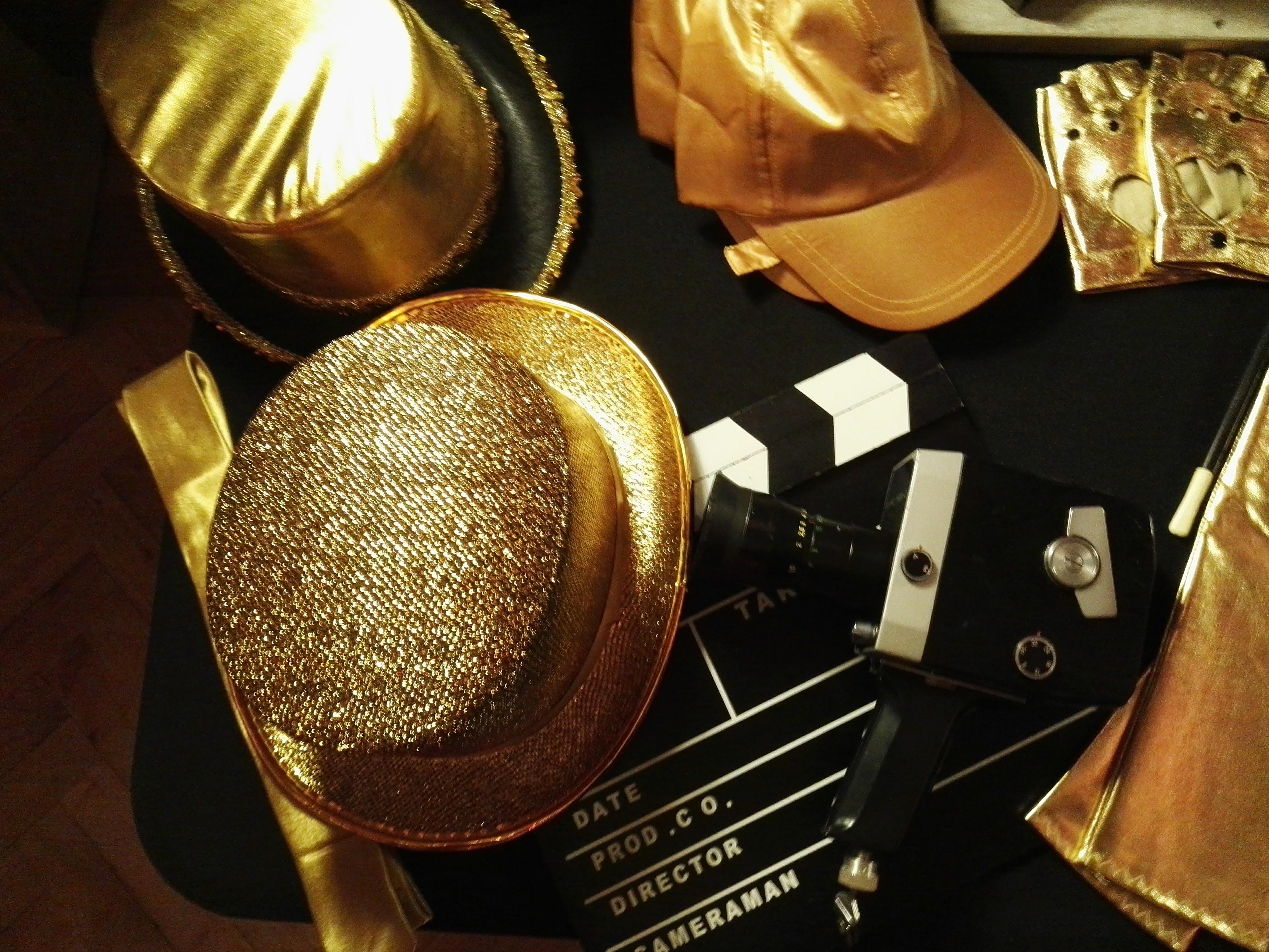 Hut,Gold,stilvoll,vintage