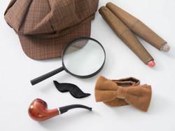 Sherlock Holmes Fotobox hochwertig