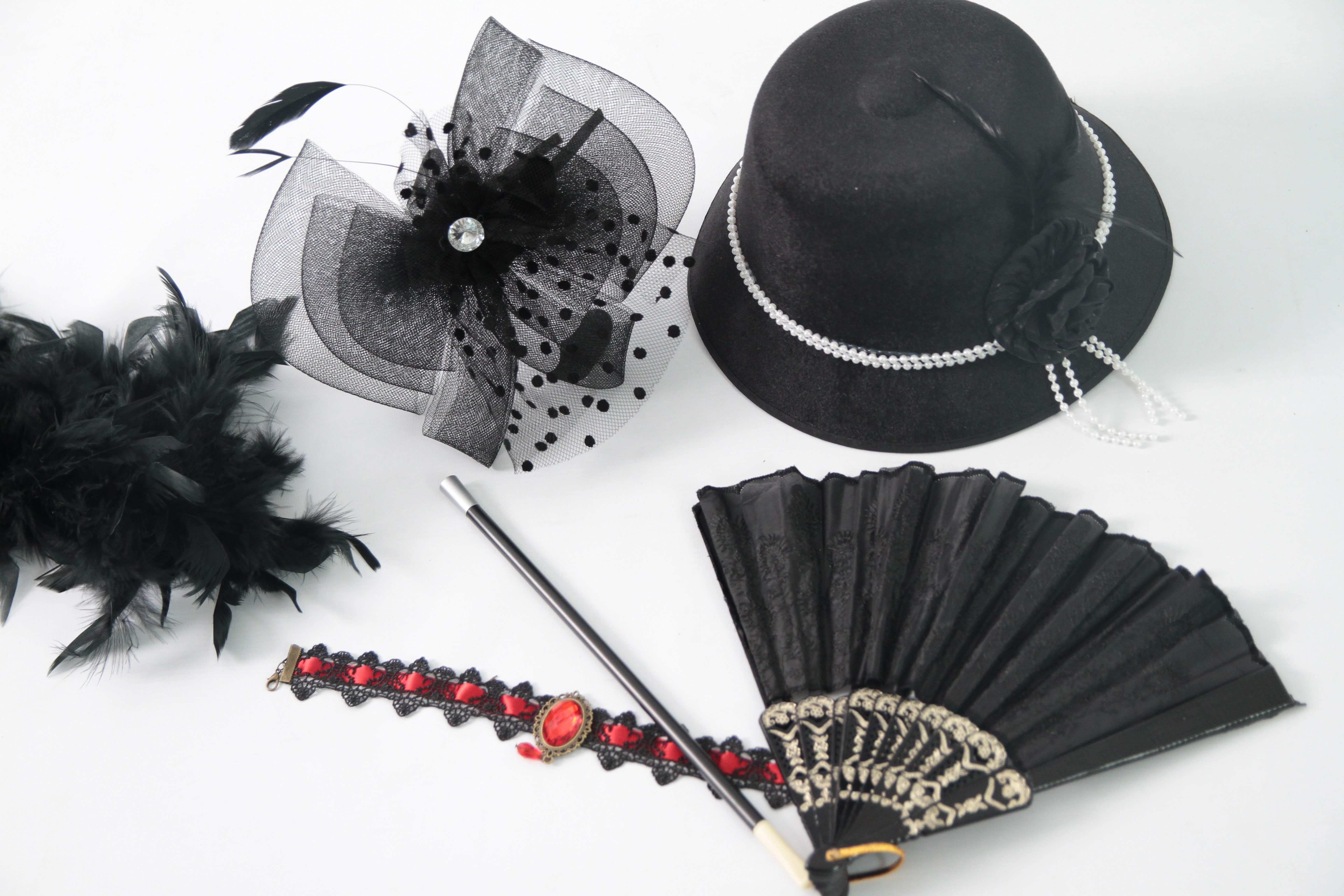 Die 1920er Photo booth Accessoires