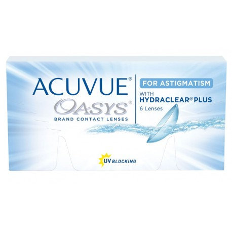Acuvue Oasys for Astigmatism Fortnightly