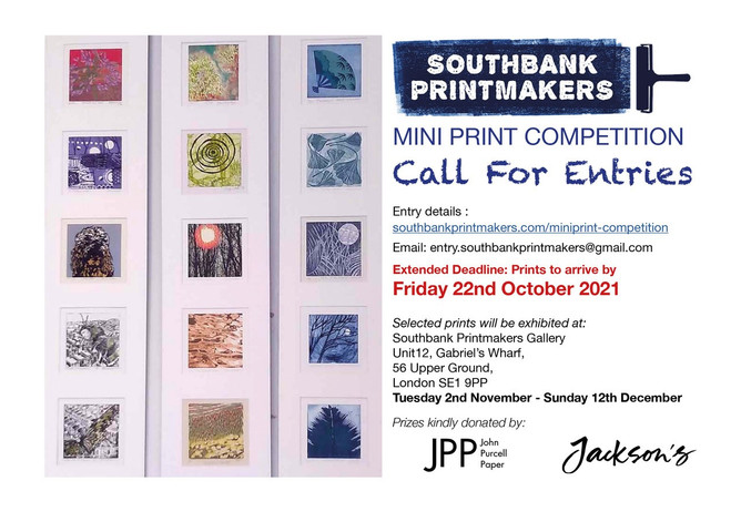 MIni Print 2021 Submission NOW OPEN!