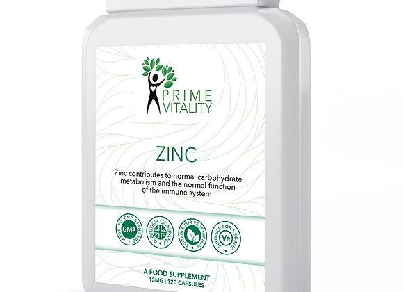 Zinc 15mg 120 capsules