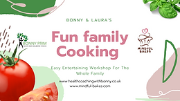 13th to 17th July - Fun Family Cooking Event