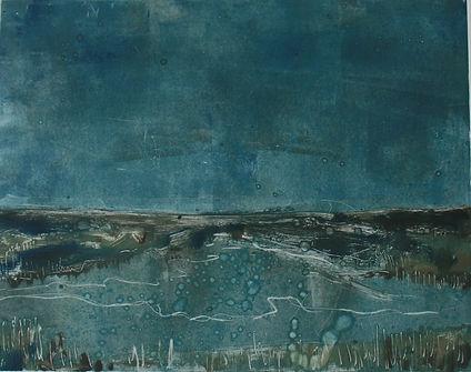 Peg Morris Blue day on the Marsh small.j