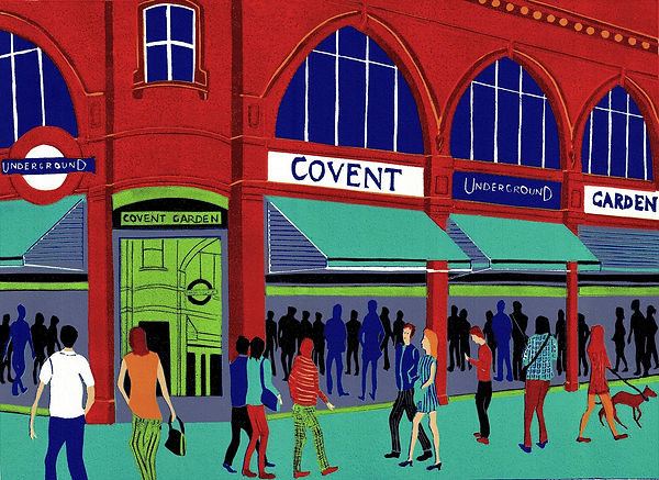 (Jennie Ing) Covent Garden Station 33x45