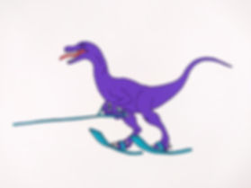 Water skiing Velociraptor s.jpg