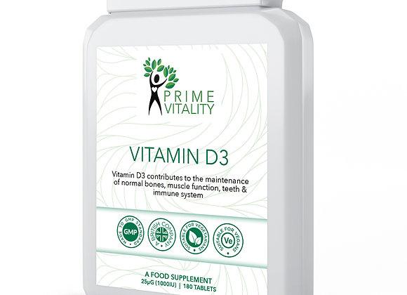 Vitamin D3 180 tablets