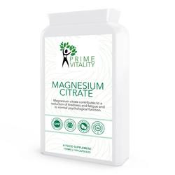 Magnesium Citrate 500mg 120 capsules