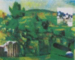 Golfing with Cezanne_A Robinson_screenpr