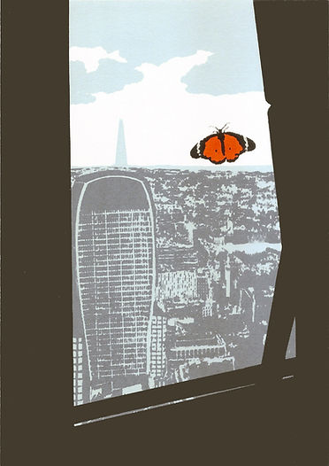 Inside the Cheesegrater, Screenprint 30