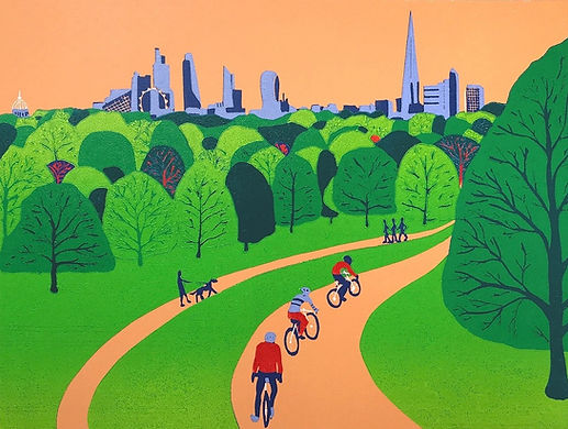 Richmond Park (London View) 33x45cm.jpg