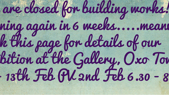 PV 2nd Feb 6.30 - 8.30 See you there!