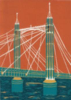 (Jennie Ing) Albert Bridge 21x15cm.jpg