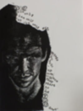 portrait of P.M.  linocut.JPG