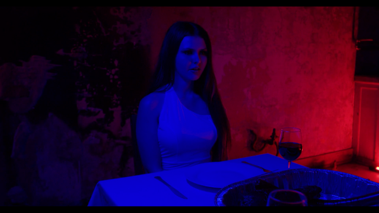 Bella Kelly White Dress Throat Official Video