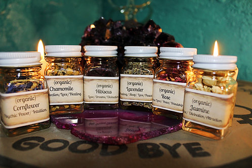 Organic Flower Herbs