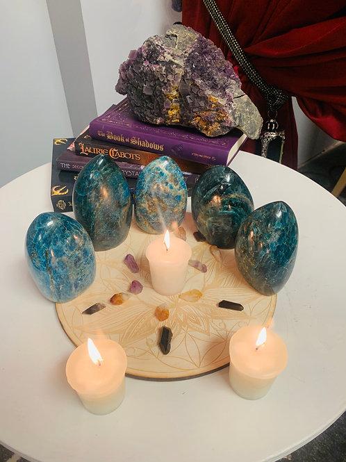 Blue Apatite Stone