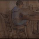 Rene et Richard - pastel de Melle Nourse