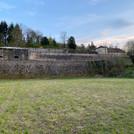 Vue du Chateau depuis Terrain de Paume -