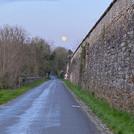 Le Grand Mur - pleine lune - Avril 2020