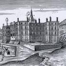 Chateau de Saint Ange, Gravure de Chatil