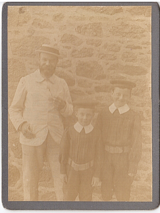 Rene et Richard de Roys 1908